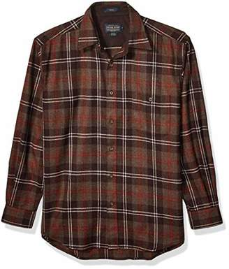 Pendleton Men's Long Sleeve Button Front Classic-fit Trail Shirt