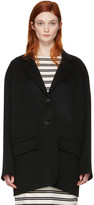Acne Studios Black Lupi Doublé Coat