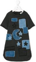 Stella McCartney denim dress with patches