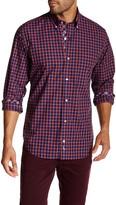 Tailorbyrd Long Sleeve Plaid Regular Fit Shirt