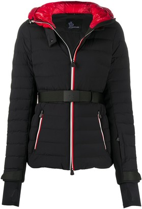 MONCLER GRENOBLE Belted Padded Down Jacket