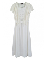 Nuria White Lace Dress