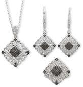Black Diamond FINE JEWELRY Vintage Inspirations1/10 CTT.W. Genuine White & Color-Enhanced 3-pc. Jewelry Set