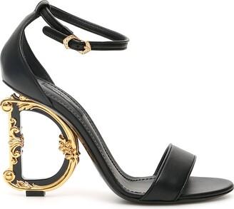 Dolce & Gabbana Barocco Keira Sandals