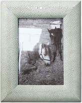 OKA Faux Shagreen Curved Frame, Small