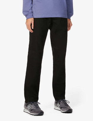 Carhartt Wip Single knee relaxed-fit straight organic-cotton trousers
