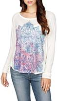 Lucky Brand Photo Mandala Top