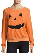 Wildfox Couture Pumpkin Love Long Sleeve Pullover