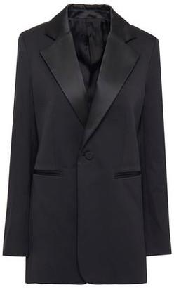 Joseph Stearn Satin-trimmed Cady Tuxedo Jacket