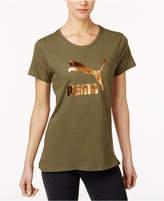 Puma Cotton Metallic T-Shirt
