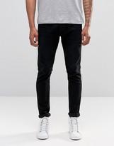Diesel Tepphar Skinny Jeans 674N Washed Black
