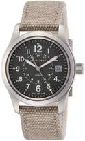 Hamilton Men's Khaki Field 38mm Nylon Band Steel Case Quartz Watch H68201963