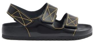 Birkenstock x Proenza Schouler X Proenza Schouler Milano Leather Sandals - Black