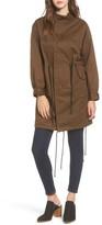 Mural Women's Oversize Military Coat