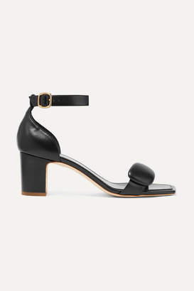 Rupert Sanderson Melissa Leather Sandals - Black