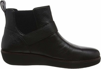 FitFlop Women's BRIA Buckle Ankle Boots