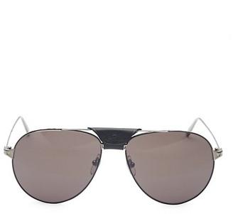 Cartier Santos Aerien Aviator Sunglasses