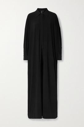 Norma Kamali Stretch-jersey Jumpsuit - Black