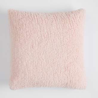 Pottery Barn Teen Cozy Pillow Cover, 18&quotx18&quot, Powdered Blush