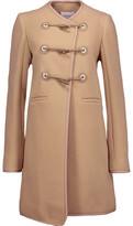 Carven Wool-Blend Felt Coat