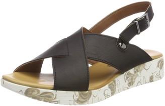 Andrea Conti Women 0955703 Heels Sandals Black Size: 7.5 UK
