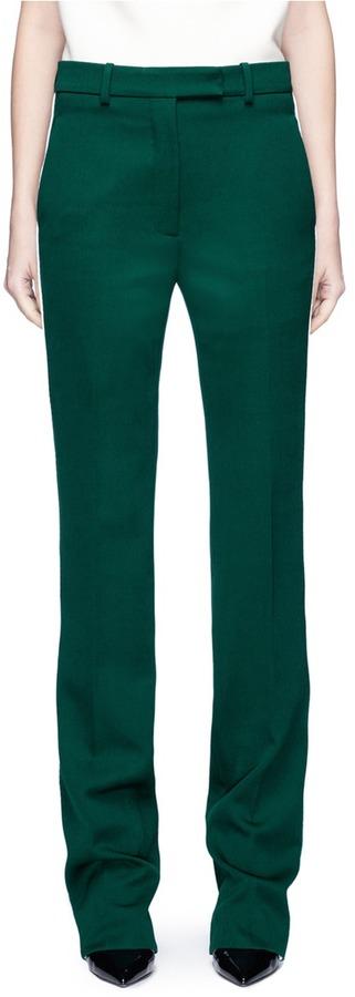 Calvin Klein Ribbon stripe wool twill suiting pants