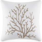 "Nautica Tideway 16"" x 16"" Embroided Decorative Pillow"