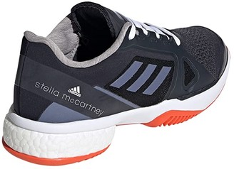 adidas ASMC Tennis (Legend Blue/Super Purple/Radiant Orange) Women's Tennis Shoes