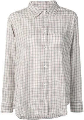 Masscob Brien check shirt
