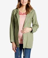 Motherhood Maternity Cotton Twill Drawstring Jacket