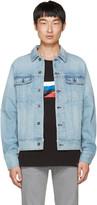 Rag & Bone Blue Denim Jacket