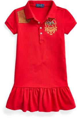 Ralph Lauren Polo Players Mesh Polo Dress