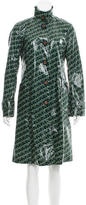 Tory Burch Printed Rain Coat