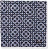 Daniel Cremieux Neat Medallion Silk Pocket Square