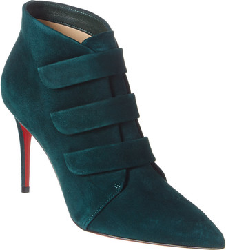 Christian Louboutin Triniboot 85 Suede Bootie