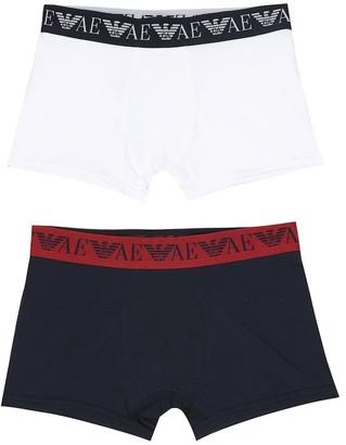 Emporio Armani Kids Set of 2 cotton boxers