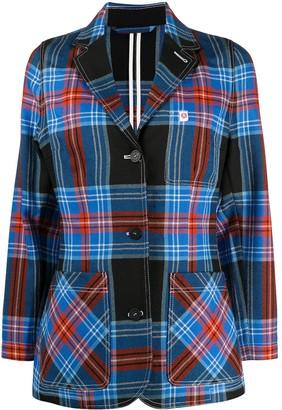 Charles Jeffrey Loverboy Tartan Shirt Jacket