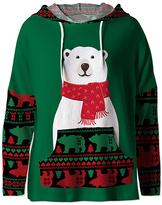 Green & Red Bear Hoodie - Women & Plus