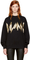 Balmain Black New Logo Sweatshirt