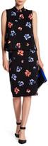 Vince Camuto Printed Midi Skirt