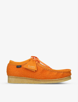 Clarks x Aime Leon Dore Wallabee wool shoes