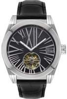 Storm Mens Tourbo-X Tourbillon Limited Edition Automatic Watch TOURBO-X-SILVER