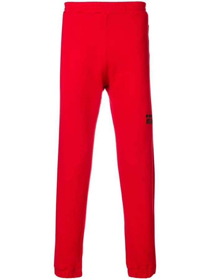 MSGM X Diadora sim-fit track trousers