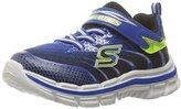 Skechers Nitrate Velcro Strap Sneaker (Little Kid/Big Kid)