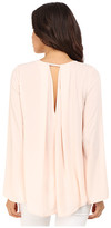 Brigitte Bailey Emillie Bell Sleeve Top with Back Pleat
