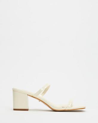 Billini - Women's White Strappy sandals - Dane - Size 6 at The Iconic