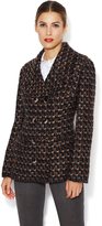 Dolce & Gabbana Tweed Double Breasted Coat