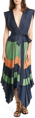 Ulla Johnson Mayshe Handkerchief Hem Dress