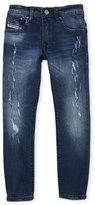 Diesel Boys 4-7) Darron Regular Slim Fit Jeans