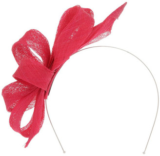 Collection Sinamay Bow Fascinator